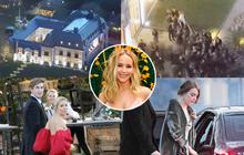 """Hôn lễ mỹ nhân """"X-Men"""" Jennifer Lawrence: Adele và dàn siêu sao đến dự, lâu đài thắt chặt an ninh, xe cứu thương bỗng xuất hiện"""