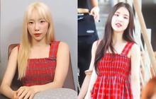 """5 nữ idol diện chung một mẫu áo hai dây: Chị đại Taeyeon """"cân"""" hết hội đàn em 9X"""