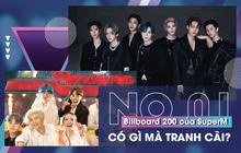 """Tranh cãi nảy lửa chuyện """"SuperM không xứng đáng với #1 Billboard 200 như BTS"""", """"SM bundle lộ liễu"""": phải trái, đúng sai như thế nào?"""
