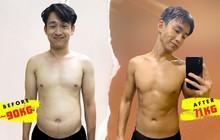Sốc với hình ảnh MC Quang Bảo lúc béo chạm mức 90kg, nhìn đến body hiện tại mới bất ngờ