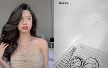 """Hàn Hằng bất ngờ đăng story xin lỗi ai đó sau tin đồn theo Huyme về nhà riêng, """"cắm sừng"""" bạn trai lộ liễu"""