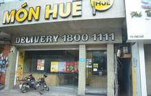 Sau Sài Gòn, hàng loạt cửa hàng món Huế ở Hà Nội đóng cửa không rõ lý do, công nhân bắt đầu tháo dỡ biển hiệu