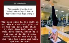 Phạm Hương chia sẻ thời điểm tập yoga tốt nhất trong ngày, giúp thu về nhiều hiệu quả vượt trội