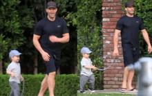 """Nam tài tử """"Người vận chuyển"""" Jason Statham khiến người hâm mộ cười té ghế vì cách đưa con trai đi chơi vô cùng bá đạo"""