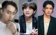"""Những mỹ nam khiến dân tình """"đổ gục"""" khi đeo vòng ngọc trai: Từ idol đẹp nhất thế giới đến Sơn Tùng đều góp mặt"""