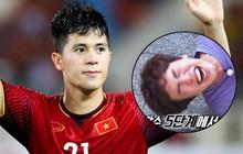 """2 cầu thủ Đình Trọng, Văn Toàn cười đến mức có... cơ bụng 8 múi vì xem """"Running Man"""""""