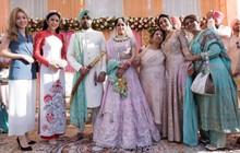 Ngọc Hân, Phương Nga dự đám cưới 5 ngày của con gái đại gia Ấn Độ: Diện Áo dài nền nã, nổi bật bên cô dâu chú rể