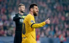 Messi lập thêm nhiều kỉ lục nhưng Barcelona suýt mất điểm tại thủ đô CH Séc