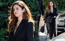 """Vừa ra ca khúc dứt tình Justin Bieber, Selena Gomez diện suit """"thả rông"""" sang chảnh quyến rũ bức người"""