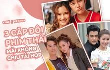 """Mặc fan chèo thuyền mỏi mệt, 3 cặp đôi phim Thái này vẫn không chịu tái hợp: Có cả Baifern và """"tình đầu quốc dân"""""""
