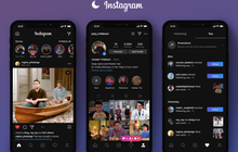 """Instagram bản Dark Mode chính thức đổ bộ: Vừa lạ vừa quen, chuẩn bài """"cú đêm"""" lướt ảnh"""
