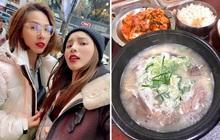 Buồn ngủ đến mấy cũng không thể ngăn Kỳ Duyên và Minh Triệu xếp hàng chờ món súp bò nổi tiếng nhất Seoul: du lịch sướng nhất chính là ăn ngon