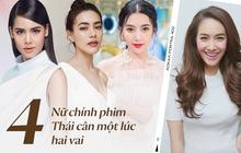 """Mốt lạ phim Thái: Nữ chính cân hai vai, bánh bèo hay """"My Sói"""" cũng không ngán"""