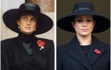 """Meghan Markle """"copy"""" nguyên xi hình mẫu của Công nương Diana trong sự kiện mới nhất, bị chỉ trích lạm dụng hình ảnh mẹ chồng quá cố"""