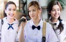 """Dàn mỹ nhân Thái lột xác khi diện đồng phục học sinh: Baifern, Taew quá xinh nhưng chưa đỉnh bằng """"chị đại trường học"""""""