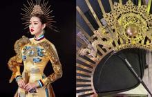 Trước giờ Chung kết Miss International, Tường San gặp sự cố gãy mấn áo dài trang phục dân tộc
