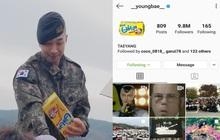 """Taeyang (BIGBANG) đã trở lại và còn """"mặn"""" hơn xưa: Đổi hẳn ảnh đại diện Instagram thành hình hộp bánh mà anh chàng đã tặng cho fan vào ngày xuất ngũ"""