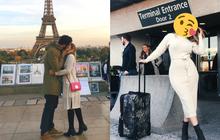 """""""Người lạ ơi cho tôi mượn nụ hôn"""" - cách cô gái xinh đẹp sở hữu loạt ảnh lãng mạn khi du lịch vòng quanh thế giới dù vẫn độc thân"""