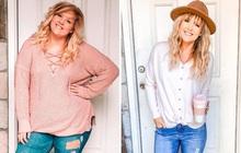 """Từng bị bạn bè """"body shaming"""" vì thân hình béo ú, mẹ 2 con người Mỹ hé lộ bí quyết giảm 46kg khiến ai cũng tròn mắt"""