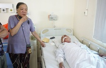 """Vụ cụ ông 80 tuổi bị tài xế xe ôm hành hung nhập viện: """"Đánh chồng tôi như vậy là không chấp nhận được nhưng bắt tù tội anh ta cũng khổ"""""""