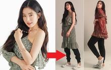 Irene nơi hậu trường photoshoot thời trang: Phần trên thì sang chảnh ngút ngàn, nhìn xuống dưới lại bô nhếch đến phì cười