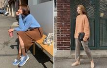 Ngắm street style châu Á tuần qua để găm loạt bí kíp diện áo len to sụ siêu xinh cho ngày trở rét