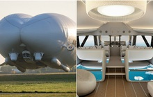 """Chiếc máy bay """"lừa tình"""" nhất thế giới: Bên ngoài như khinh khí cầu, bên trong đẹp hệt khách sạn 5 sao đưa khách du ngoạn Bắc Cực"""