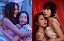 """Thanh Hằng - Chi Pu ôm ấp nhau từ hậu trường tới poster phim: """"Chị Chị Em Em"""" là bách hợp chứ chối cãi gì nữa?"""