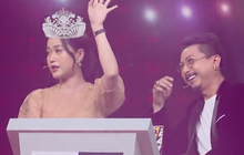 Lâm Vỹ Dạ xổ hết tiếng Hàn đến tiếng Anh, chốt hạ tuyên bố mình là... Hoa hậu Hoàn vũ 2019