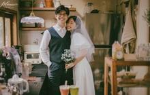 Trọn bộ ảnh cưới cực đáng yêu của cặp đôi MC trai tài gái sắc Mạnh Cường – Hương Giang