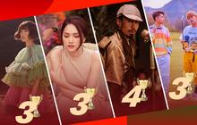 """Nghệ sĩ Vpop nào là """"bá chủ"""" Top 1 Trending năm 2019: Jack và K-ICM ngang bằng Hương Giang và Min, nhưng Đen Vâu mới là trùm cuối!"""