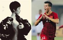 """Bảo Anh """"chơi lớn"""" tung ảnh nude mừng tuyển Việt Nam chiến thắng, lên ngôi đầu bảng G vòng loại World Cup 2022"""