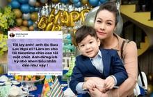"""Bị chồng ngăn cản gặp con trai, Nhật Kim Anh bức xúc: """"Anh đừng ích kỷ nữa, tôi chịu hết nổi rồi!"""""""