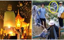 Hậu lễ hội thả đèn trời Thái Lan lung linh huyền ảo: Người dân khóc mếu nhặt rác mỏi tay, sân bay hốt hoảng, nhà cháy thành tro