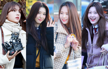 """Khung cảnh """"thần tiên"""" idol Kpop đi thi đại học: Ai cũng diện đồng phục đẹp mãn nhãn, nữ thần lai đọ sắc bên ITZY, LOONA"""