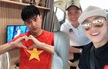 Dàn nghệ sĩ Việt hào hứng, đồng loạt cổ vũ đội tuyển Việt Nam dành chiến thắng trước giờ G gặp UAE!