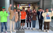 """Dàn sao """"Running Man"""" gửi lời chào đến fan Việt trước khi sang tổ chức fan meeting"""
