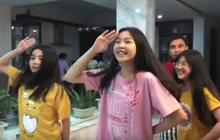 Lọ Lem - con gái MC Quyền Linh xinh muốn xỉu trong clip dạy nhảy cho ba, để lộ mình là fan K-pop chính hiệu!