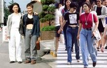 """Nam thanh nữ tú xứ Hàn những năm 90: Lên đồ chặt chém, bắt trend nhanh khiến thế hệ bây giờ cũng phải """"ngả mũ"""""""