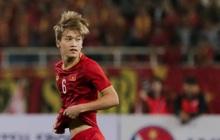 Tân binh gợi nhớ Xuân Trường với chiếc áo số 6 trong trận đấu ra mắt đội tuyển Việt Nam