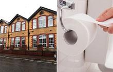 Nhà trường ban lệnh hạn chế dùng giấy vệ sinh, bé gái phải nhập viện khẩn cấp vì táo bón
