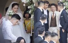 Livestream hôn lễ Bảo Thy: Lễ đường bày trí cực kỳ đơn giản, cô dâu chú rể hạn chế xuất hiện trước truyền thông