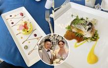 """Cận cảnh tất tần tật những món trong thực đơn """"sang - xịn - mịn"""" của đám cưới Bảo Thy: nhìn cho thèm chứ biết bao giờ mới được thử"""