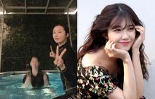 """Lại thêm idol Kpop vi vu Việt Nam: Eunji (Apink) bí mật sang Đà Nẵng, đưa em trai vừa thi đại học """"xả"""" stress"""
