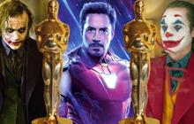 Đúng 10 năm Robert Downey Jr lại nhọ một lần: Tượng vàng Oscar lẽ nào về tay Joker ?
