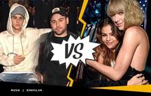 """Biến ngày càng căng: Justin Bieber """"vào cuộc"""" ủng hộ Scooter Braun, team Taylor đăng đàn tố Big Machine nợ tiền bản quyền 7,9 triệu đô!"""
