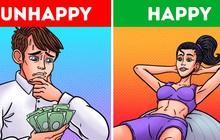 Không chỉ tốt cho sức khoẻ, tập thể dục thường xuyên đôi khi mang lại hạnh phúc cho bạn hơn cả việc có thu nhập cao ngất ngưởng