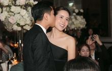 Hồ Hoài Anh hôn má Lưu Hương Giang tại lễ cưới Giang Hồng Ngọc, tích cực tình tứ hậu sóng gió hôn nhân