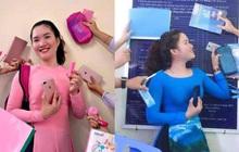Loạt ảnh cực ngầu của cô giáo trường người ta: Cập nhật hot trend màu sắc và chịu chơi chẳng kém gì học trò