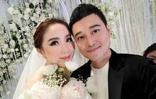 """Khi """"Hoàng tử sơn ca"""" Quang Vinh và """"Công chúa bong bóng"""" Bảo Thy hội ngộ trong tiệc cưới: Giá mà được nghe họ song ca thì tuyệt!"""